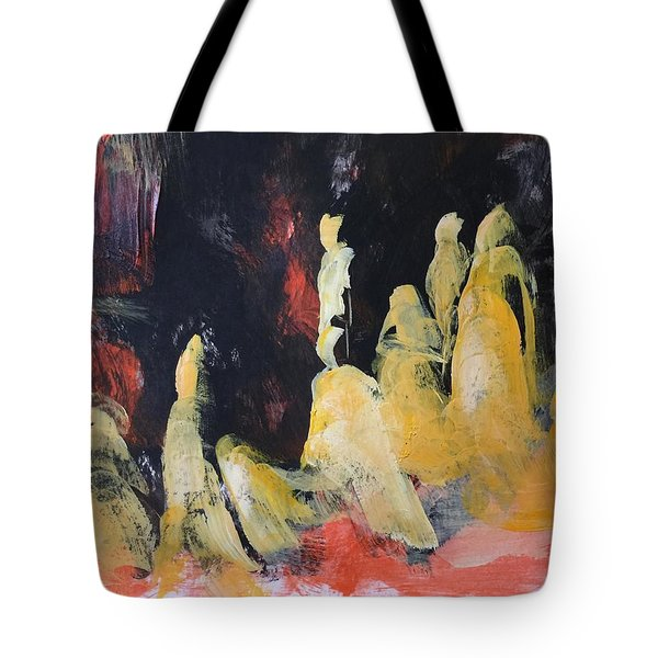 Gods Of The Mountain Tote Bag