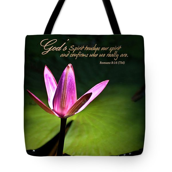God's Spirit Tote Bag