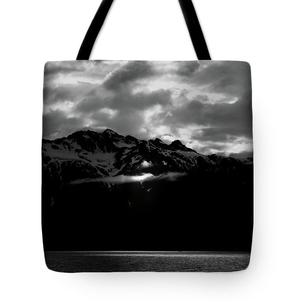 God's Spotlight Tote Bag