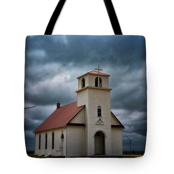 God's Storm Tote Bag by Darren White