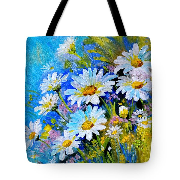 God's Touch Tote Bag by Karen Showell