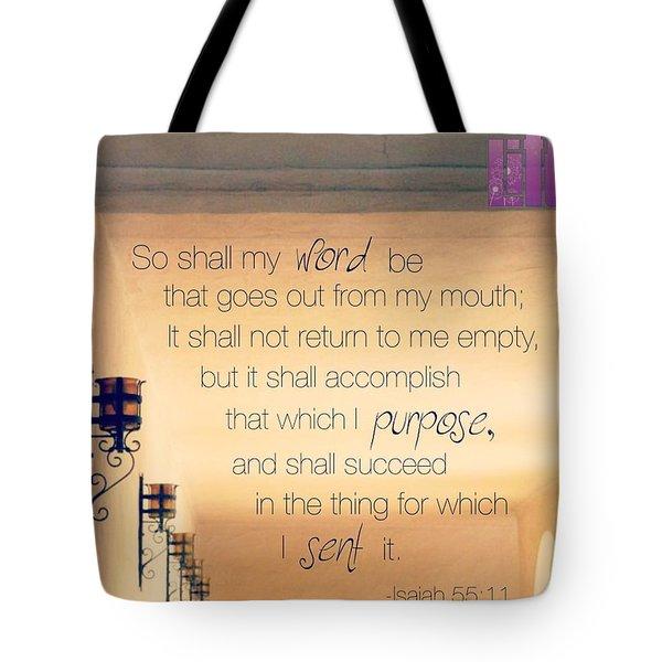 God's Word Has #creative #power Tote Bag