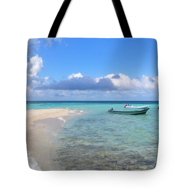 Goff's Caye Island Tote Bag