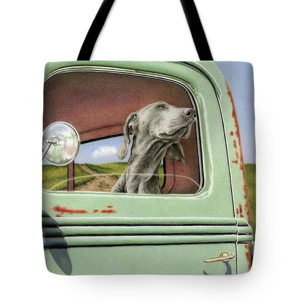 Goin' For A Ride Tote Bag