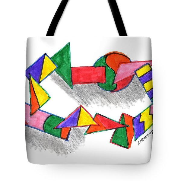 Going Around Tote Bag