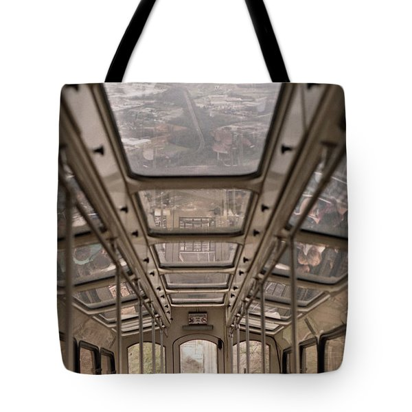 Going Down Tote Bag by Richard Rizzo