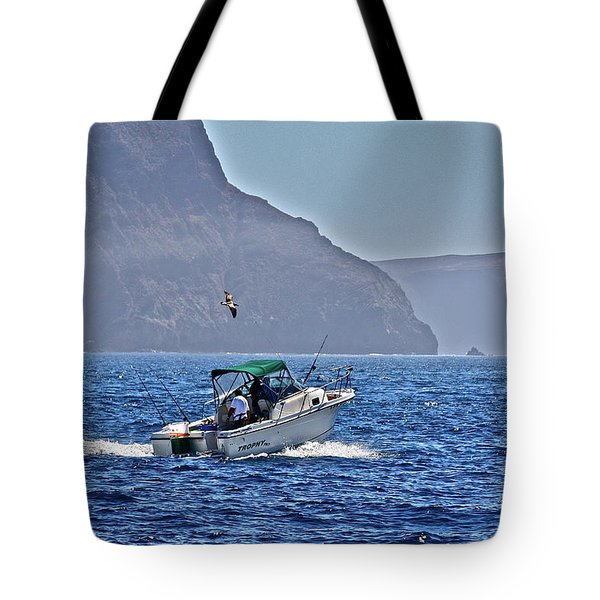 Going Fishing Tote Bag
