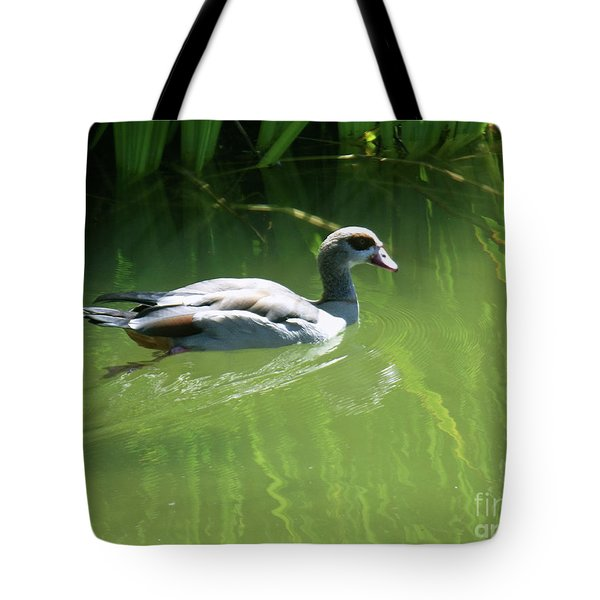 Going For A Swim Tote Bag by Methune Hively