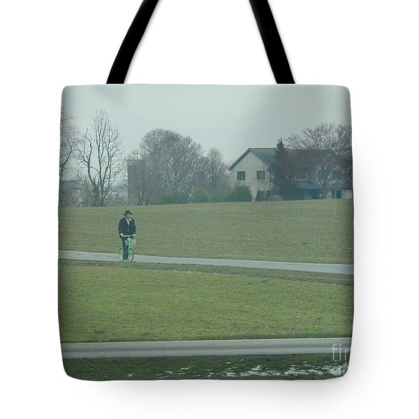 Going For A Visit Tote Bag