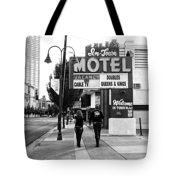 Tote Bag featuring the photograph Going For Breakfast by Vinnie Oakes