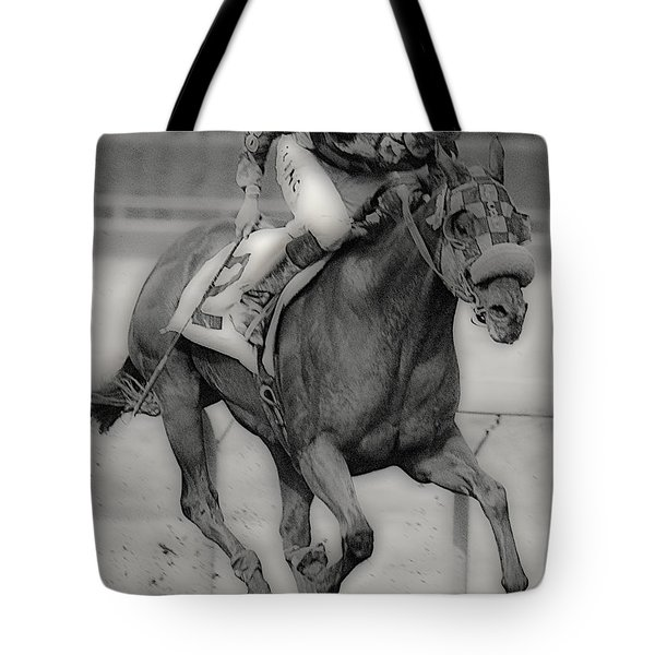 Going For The Win Tote Bag by Lori Seaman