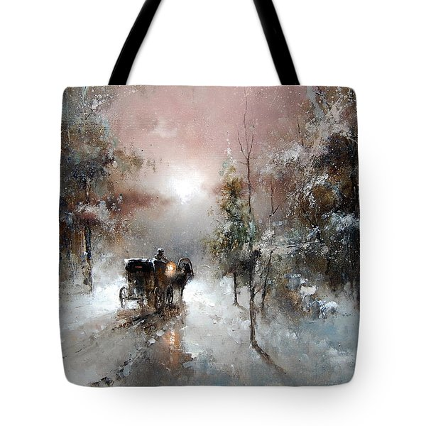 Going For Visit Tote Bag
