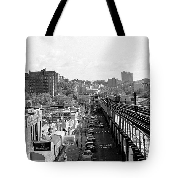 Going Home 4 Train Tote Bag