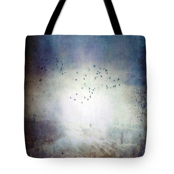 Going Home Tote Bag by Ann Tracy