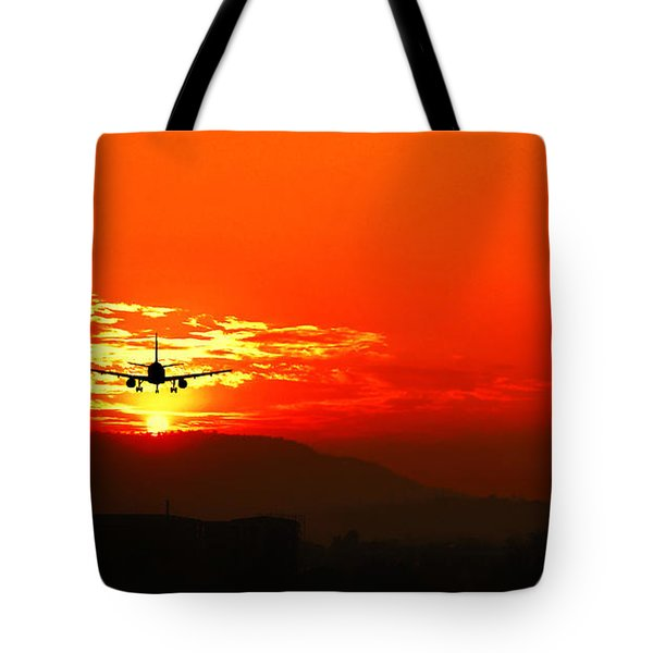 Going Home Tote Bag by Charuhas Images