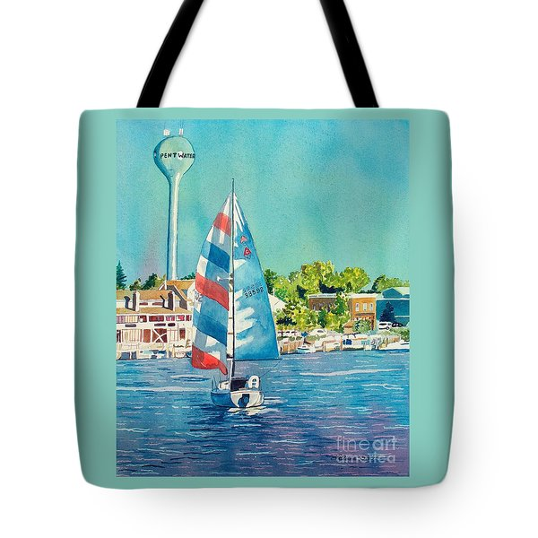 Going Home Tote Bag by LeAnne Sowa