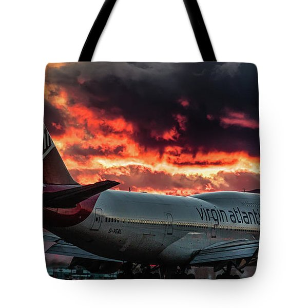 Tote Bag featuring the photograph Going Home by Michael Rogers