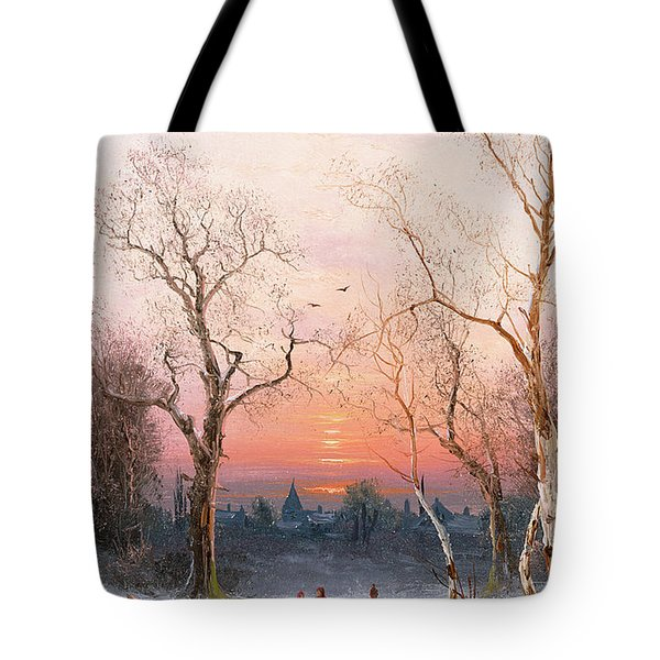 Going Home Tote Bag by Nils Hans Christiansen