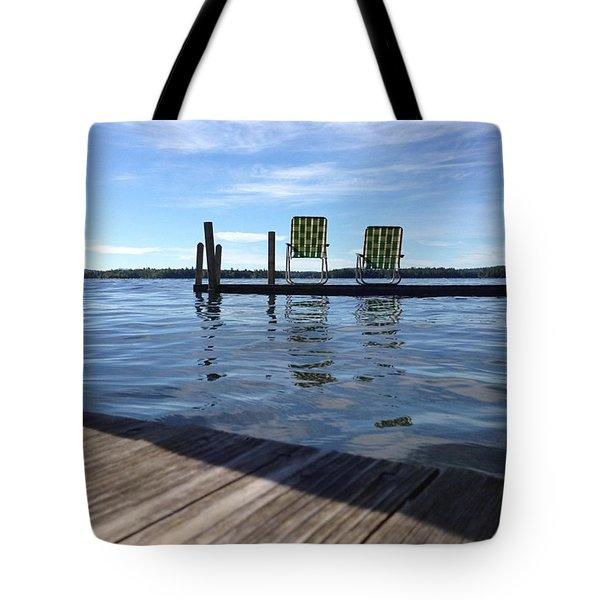 Summer Awaits Tote Bag