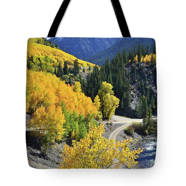 Going Off Road Tote Bag