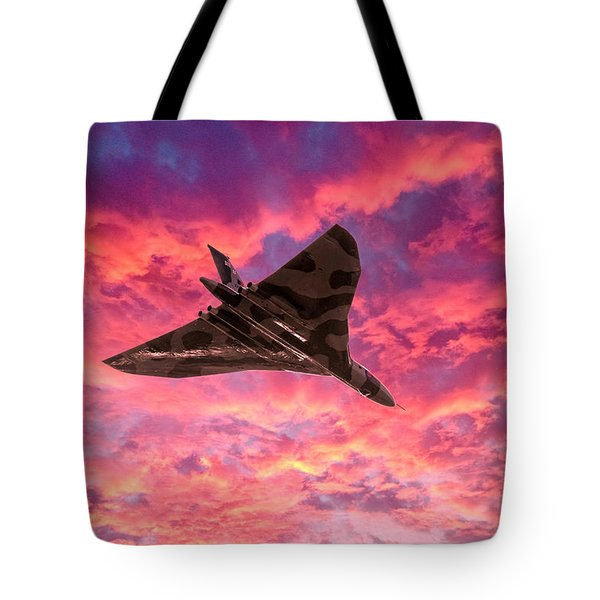 Going Out In A Blaze Of Glory Tote Bag