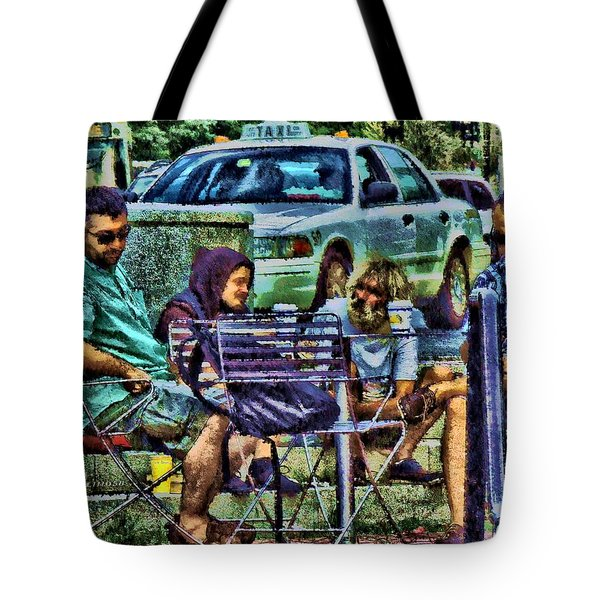 Going Places From Harvard Square Tote Bag