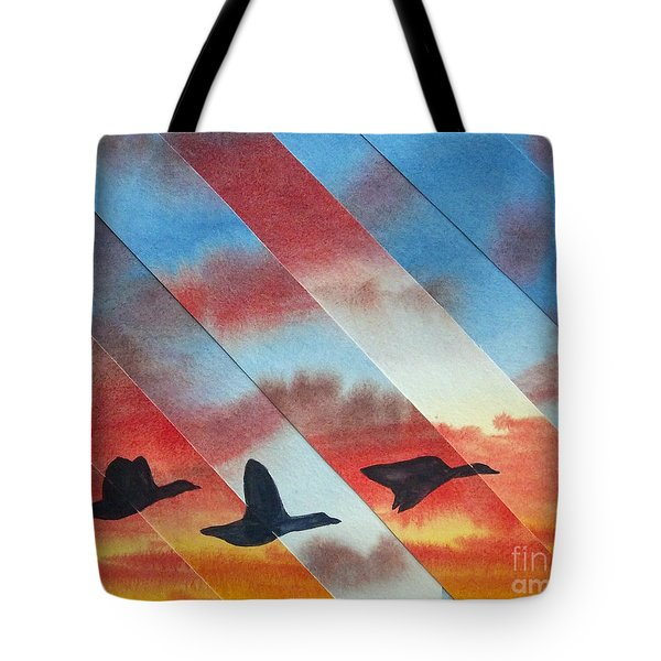 Going Places Tote Bag by Jeni Bate