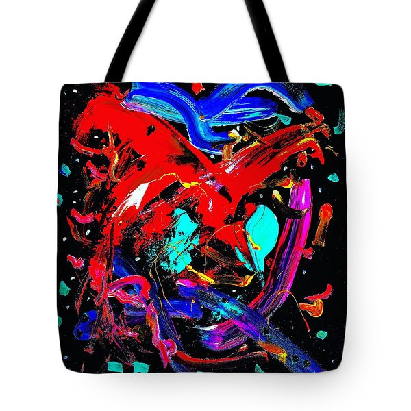 Living Heart Tote Bag