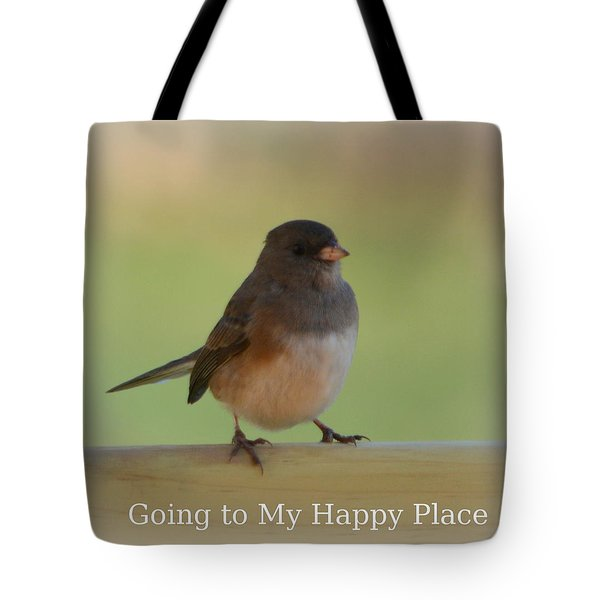 Going To My Happy Place Tote Bag