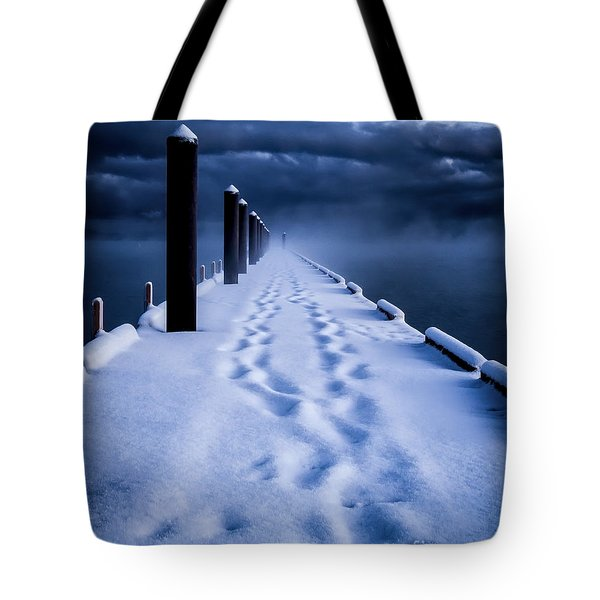 Going To The End Tote Bag