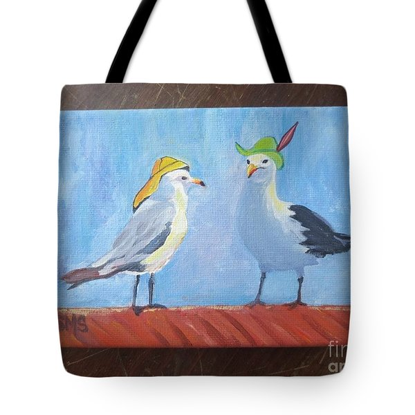 Going To The Hat Parade Tote Bag