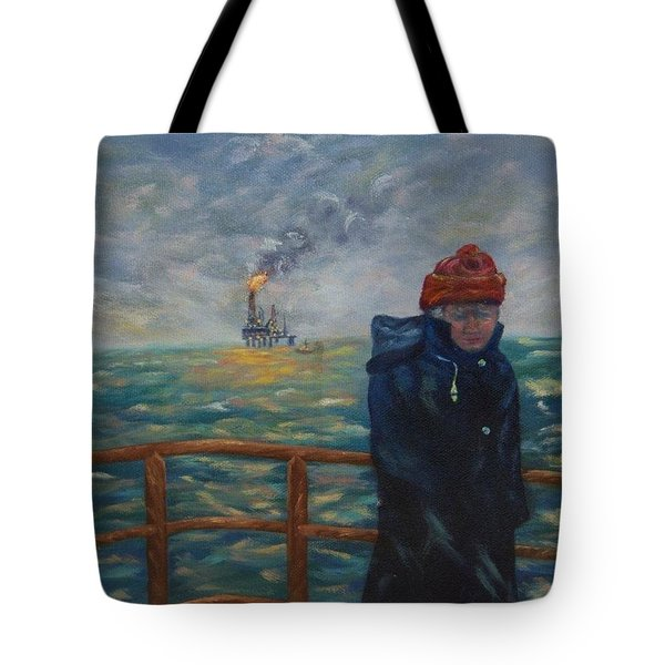 Going To Work Tote Bag by Douglas Ann Slusher