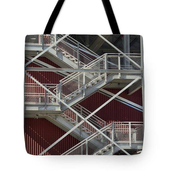 Going Up Tote Bag by Kae Cheatham