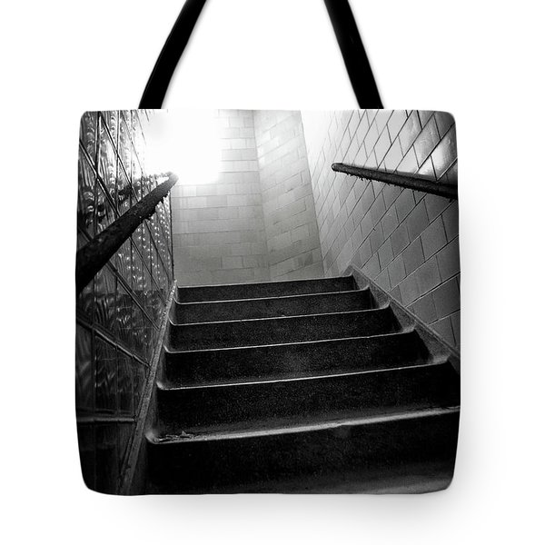 Going Up? Tote Bag by Randall Cogle