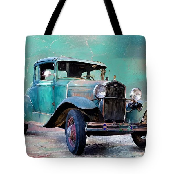 Going Visiting Tote Bag