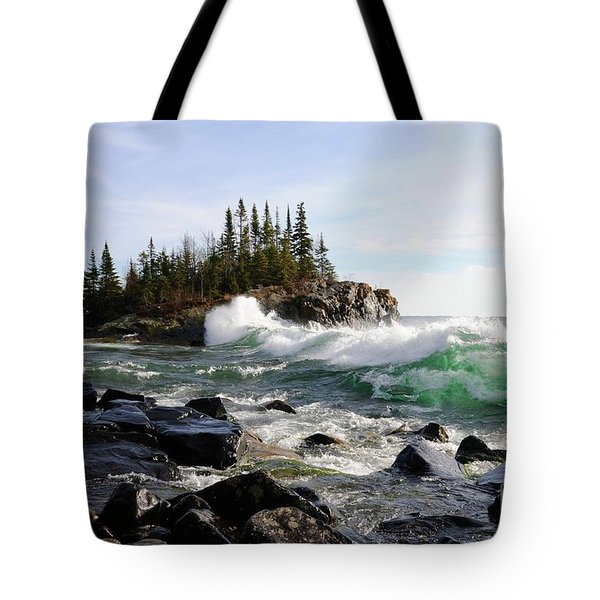 Going Wild Tote Bag by Sandra Updyke