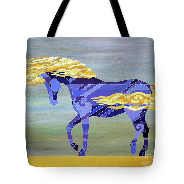Going With The Flow Tote Bag