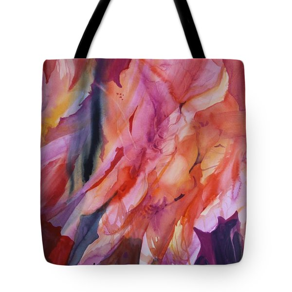 Going With The Flow Tote Bag by Donna Acheson-Juillet