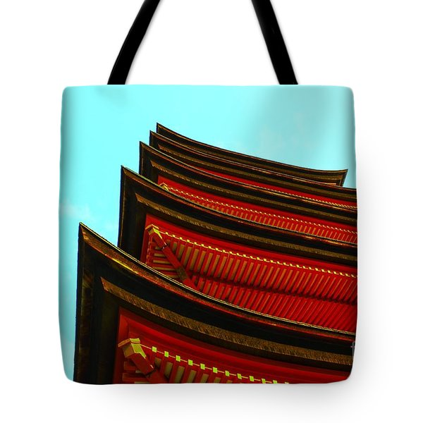 Tote Bag featuring the photograph Gojunoto by Helge