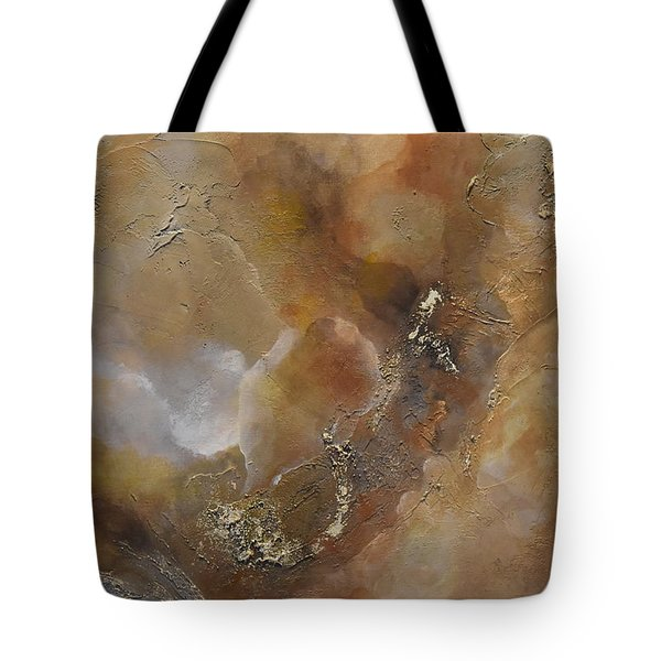 Tote Bag featuring the painting Gold Bliss by Tamara Bettencourt
