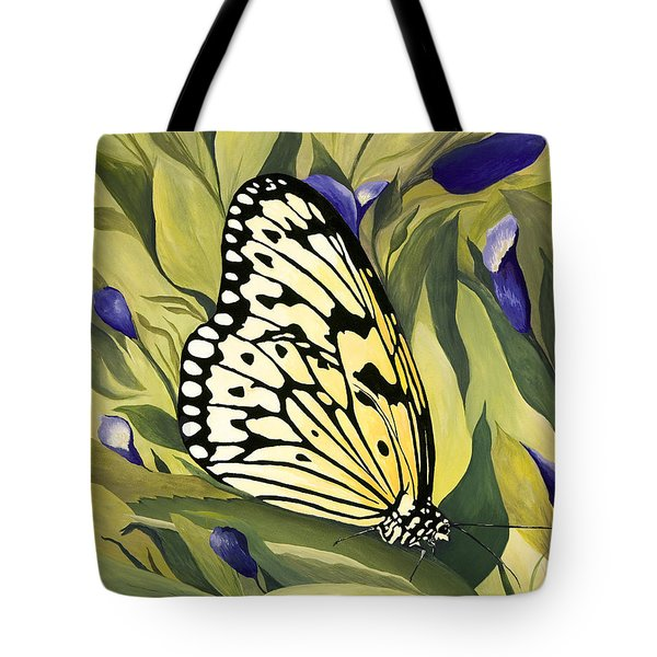 Gold Butterfly In Branson Tote Bag