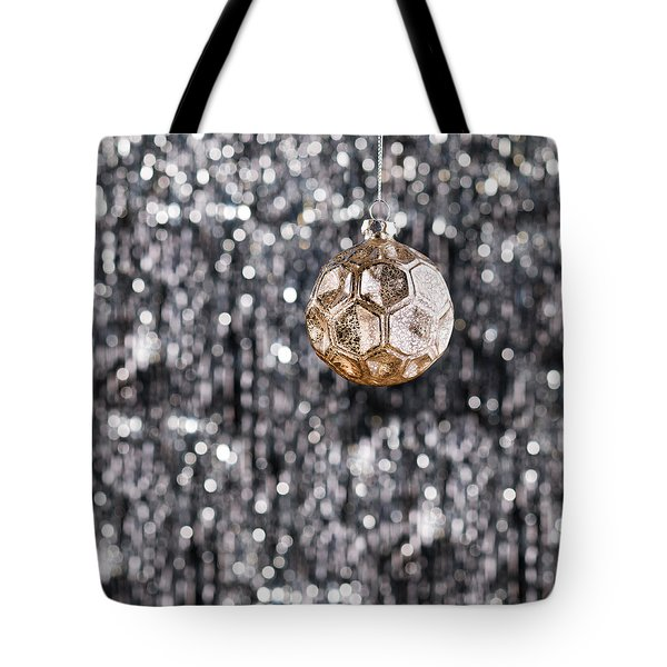 Tote Bag featuring the photograph Gold Christmas by Ulrich Schade