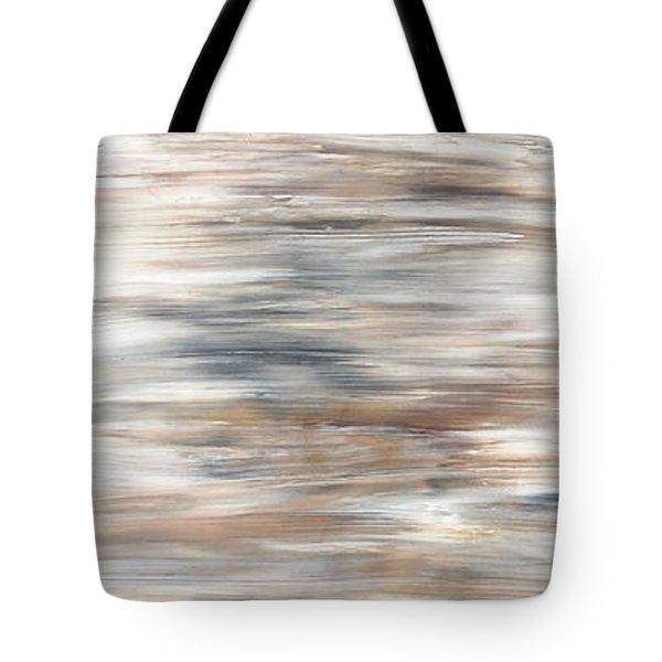 Gold Coast #20 Gold Landscape Original Fine Art Acrylic On Canvas Tote Bag