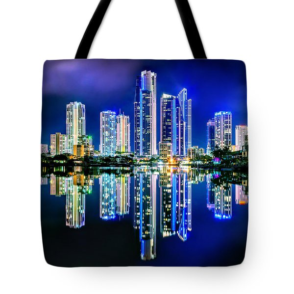 Gold Coast Reflections Tote Bag