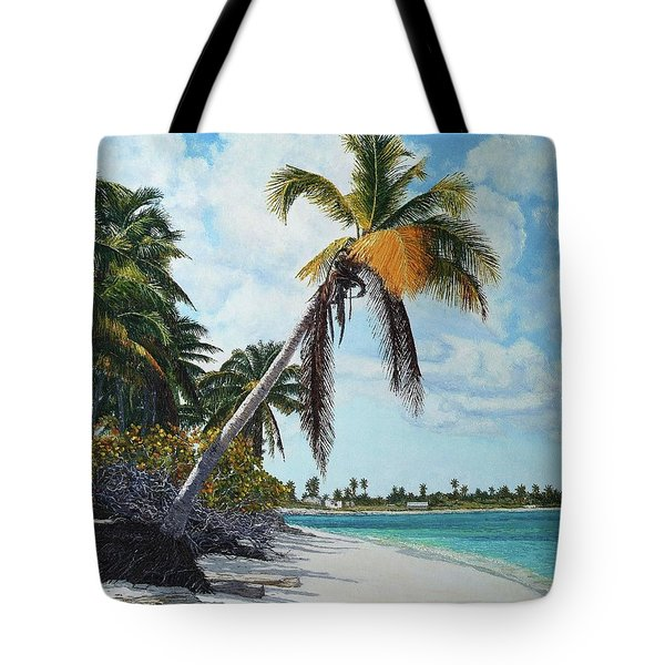 Gold Coconut Tote Bag