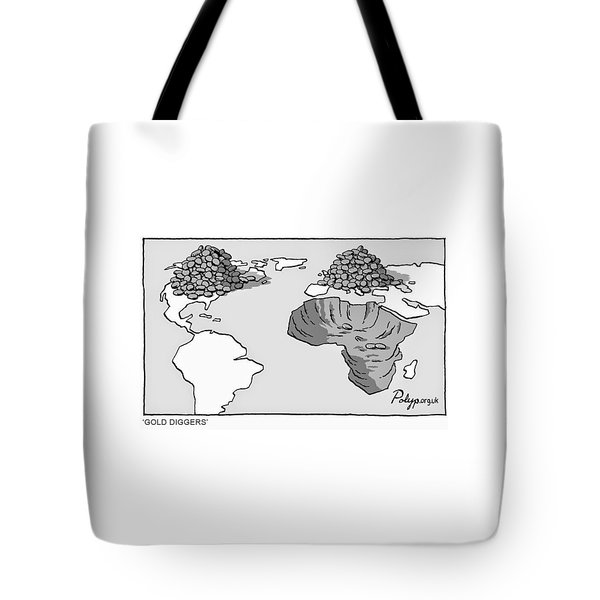 Tote Bag featuring the digital art Gold Diggers by ReInvintaged