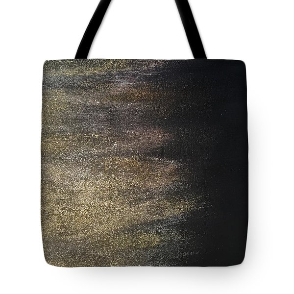 Gold Dusty Night Tote Bag