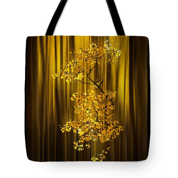 Gold Tote Bag