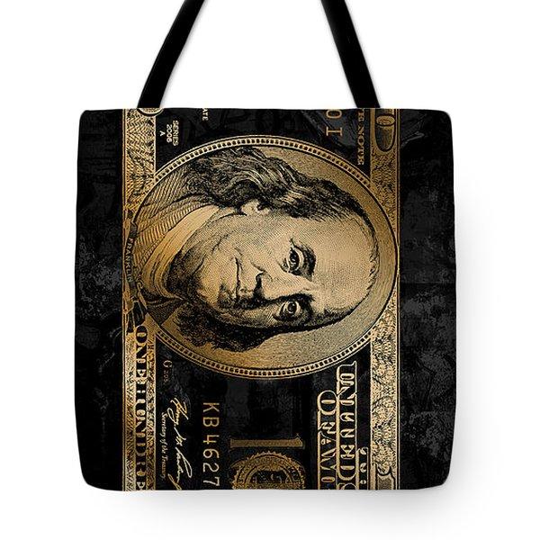 Gold Franks Tote Bag