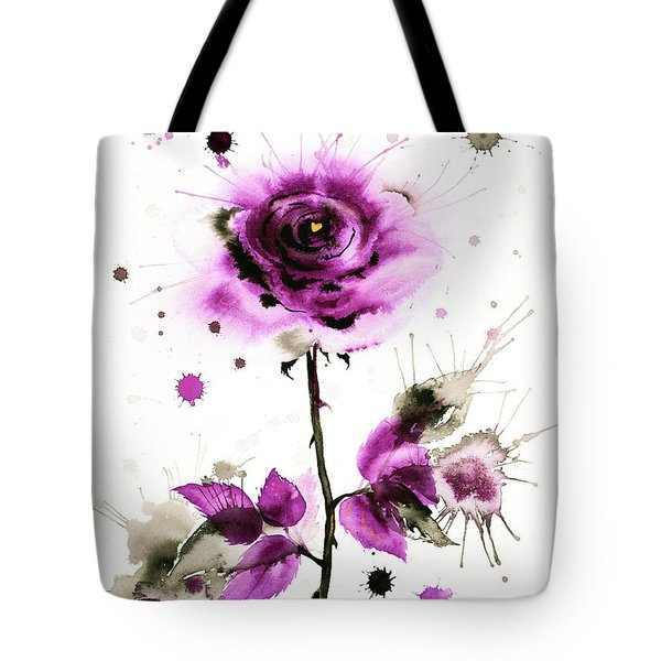 Gold Heart Of The Rose Tote Bag